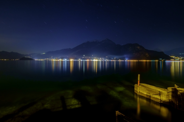 Lights On Lake Como